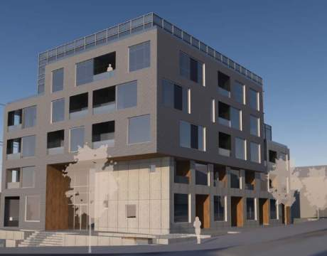 Proposed Mid-rise Strata Building At 62nd Avenue And Cambie Street.