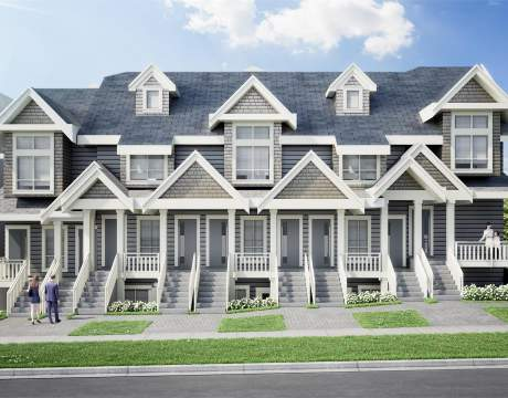 Ten Stacked Norquay Village Townhomes Ready For Occupancy In Fall/winter 2020.