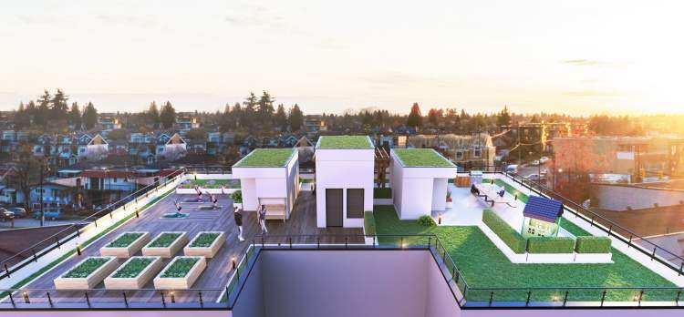 ith a rooftop BBQ, playground for children, and a lounge area, you can entertain and socialize with friends and family of all ages.