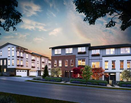 Forty-six Stylish New Langley Townhomes Ready To Move In Starting Fall 2020.