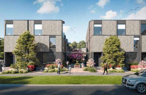 A Collection Of One- To Four-bedroom Ground-oriented Townhomes In Southern Victoria.