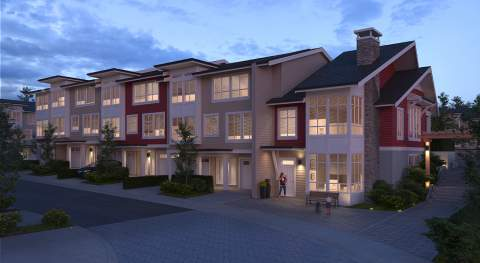 Breathtaking Coastal Mountains And Wide Blue Skies Set The Stage For This New Collection Of 3- And 4-bedroom Maple Ridge Townhomes.
