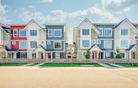Move-in Ready Family-size Townhomes In The Social Heart Of North Delta.