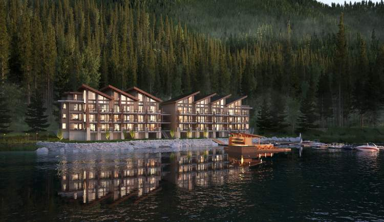 A luxurious resort-style condominium and marina located on Cultus Lake.