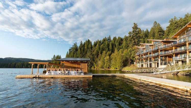 Only 21 homes are available at Lakeside Cultus Lake, making this an exclusive retreat for a fortunate few.