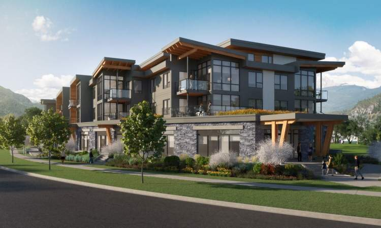 The Wilfred is a collection of 37 oversized, contemporary, and luxurious condominiums in Squamish.
