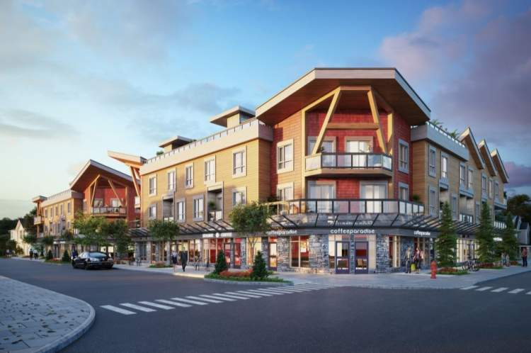 Coming soon to downtown Squamish, a collection of 29 city homes with private roof decks.