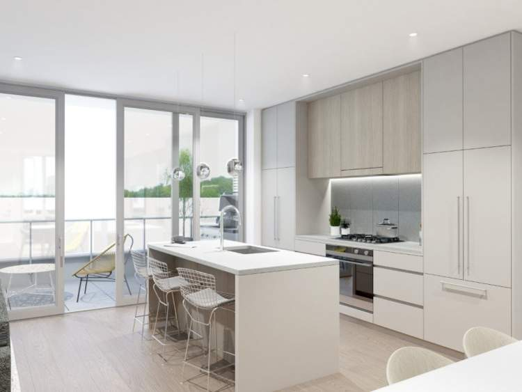 Spacious open kitchens are perfect for active families and entertaining guests. Efficient layouts offer a seamless indoor-outdoor connection to the main living spaces and rear patio.