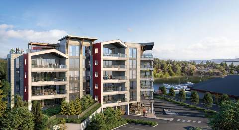 Now Selling, 39 Cceanfront Condominiums In Spectacular Nanoose Bay.