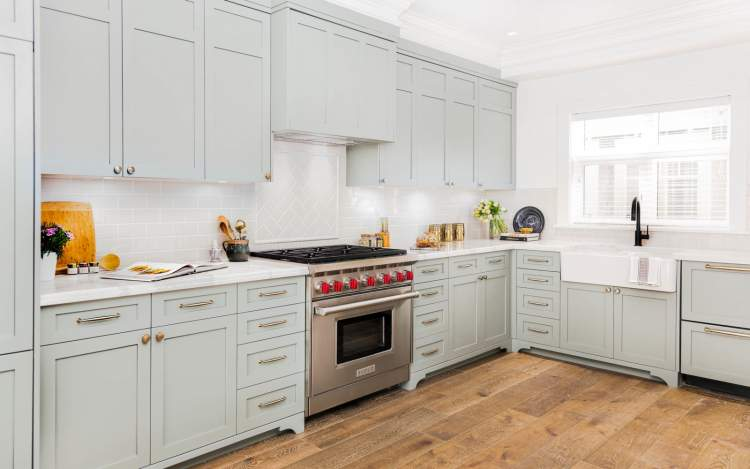 Sixteenth & Burrard kitchens are modern in function and classic in design.