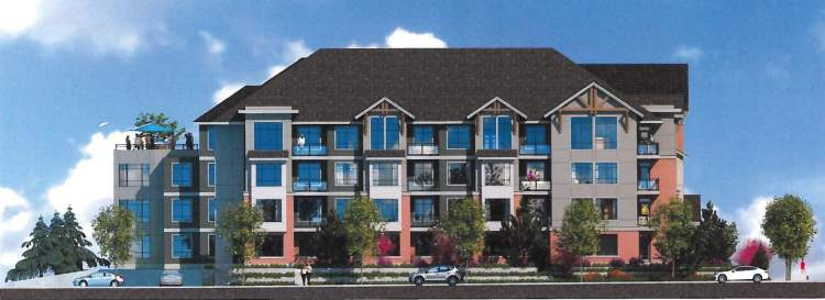 Atrium Langley is a collection of 77 condominiums by Jagson Investment.