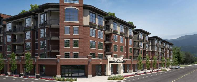 Brickwater3 is the third in a series of four residential buildings in downtown Maple Ridge.