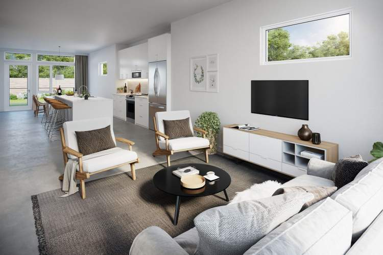Homes are spacious and bright, stylish and modern with quality finishing and innovative interior design throughout.