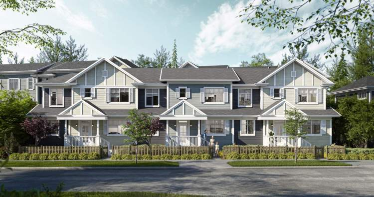 A new collection of 67 Coquitlam townhomes coming soon to Burke Mountain.