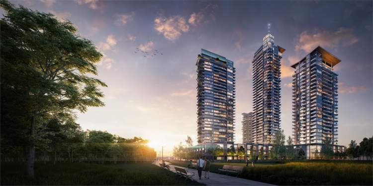 Coming soon to Brentwood Park South, Eclipse is the final tower in Thind Properties' Lumina residential community.