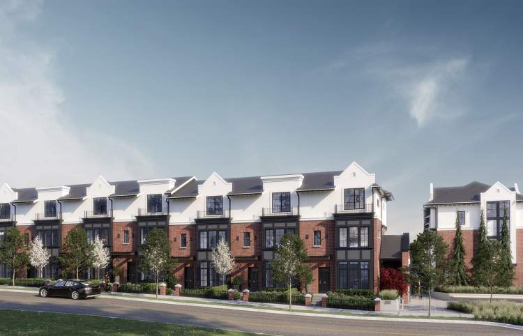 40 European-inspired family rowhomes in the heart of North Vancouver's Lions Gate Village.