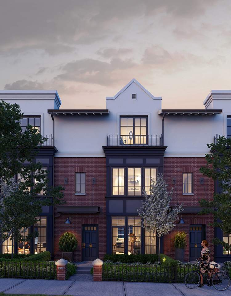 Spacious rowhomes are designed with 3+ bedrooms for you and your family's active lifestyle.