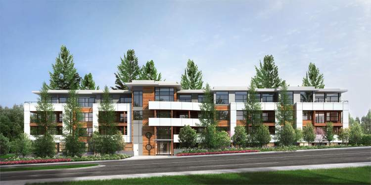 132 South Surrey residences serenely set in a private wooded acreage.
