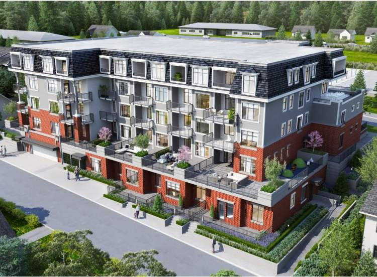 Otto is a new collection of 51 condominiums from Dolomiti Homes coming soon to West Coquitlam.