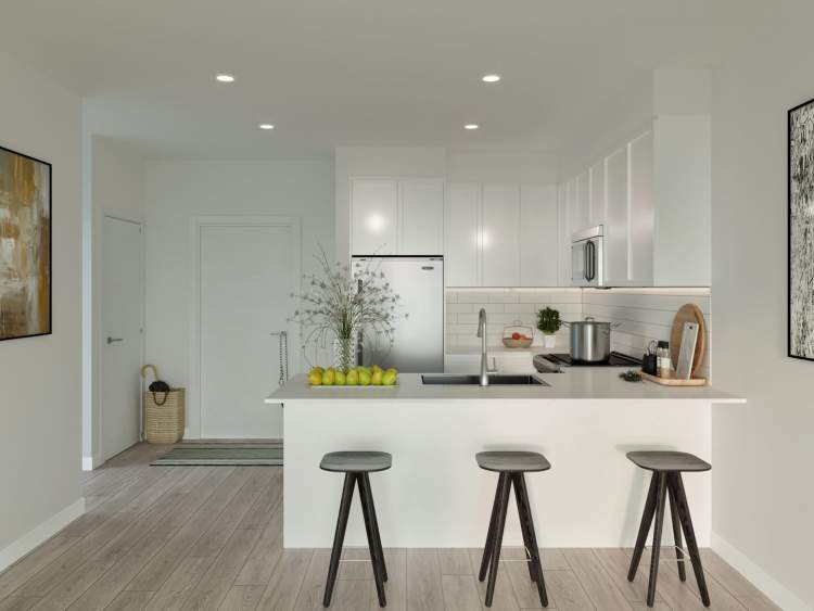 Gourmet kitchens, the heart of the home, are designed for the importance of entertaining with family and friends.
