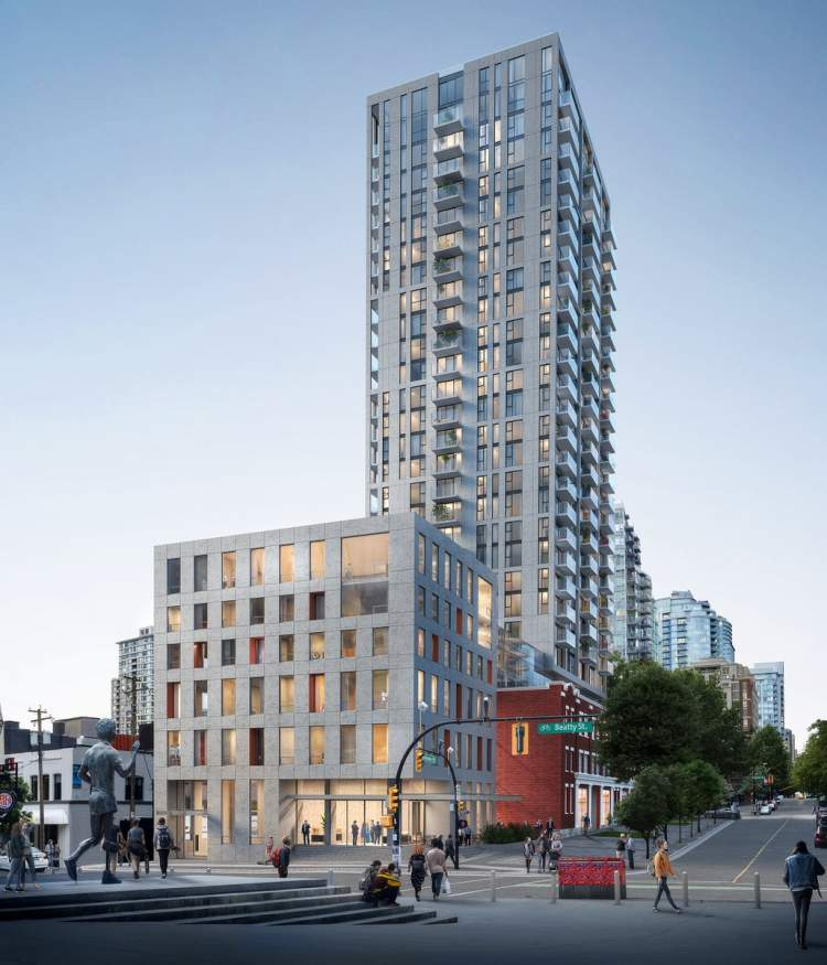 A condo offering like no other in downtown Vancouver that honours the heritage of this special location.
