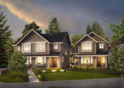 A New Collection Of 10 Exclusive Homes In The Kensington-Cedar Cottage Neighbourhood Of East Vancouver.