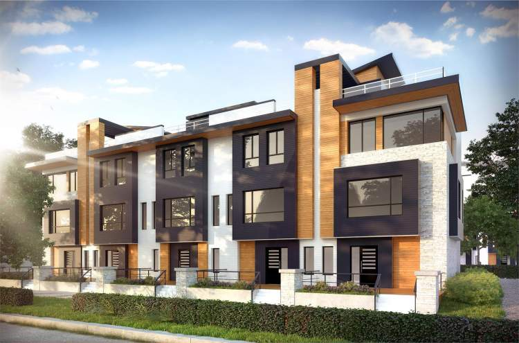 An elegant collection of 3-bedroom, 4-bathroom townhomes in the heart of Fleetwood, Surrey.