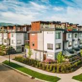 Selling now, a collection of 36 luxurious lakeside Kelowna townhomes ideal for downsizers.