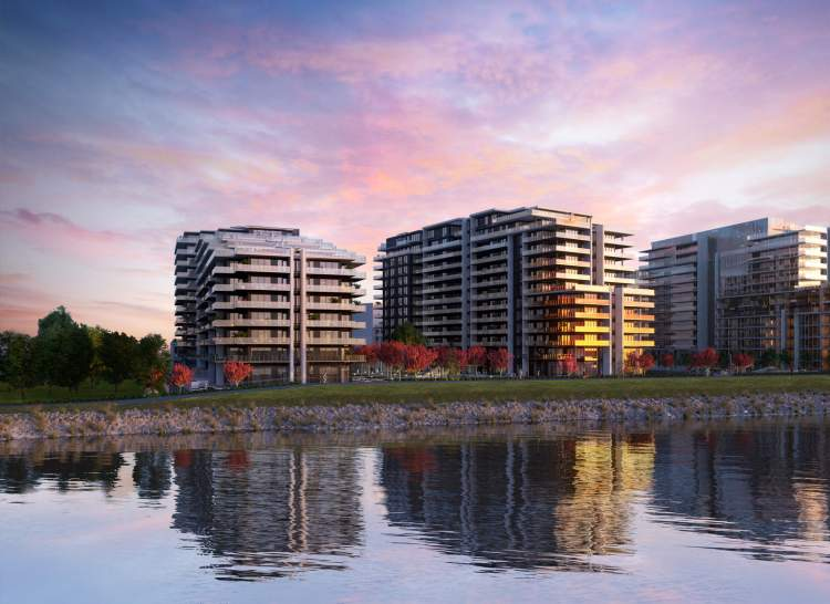 Three mid-rise luxury condominium towers coming soon to ASPAC's prestigious River Green community in Richmond.