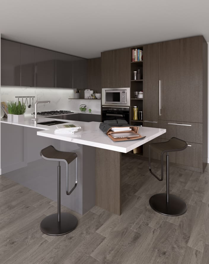 Cesar of Milan is collaborating with ASPAC on an exclusive kitchen design.