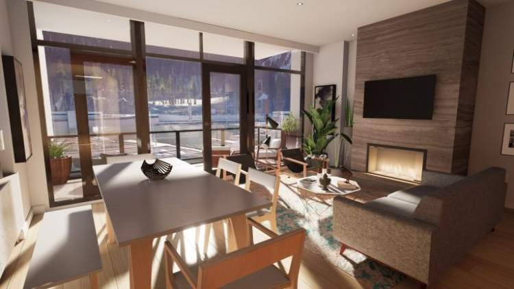Interiors inspired by West Coast Modern, Frank Lloyd Wright, and the Arts and Crafts movement.