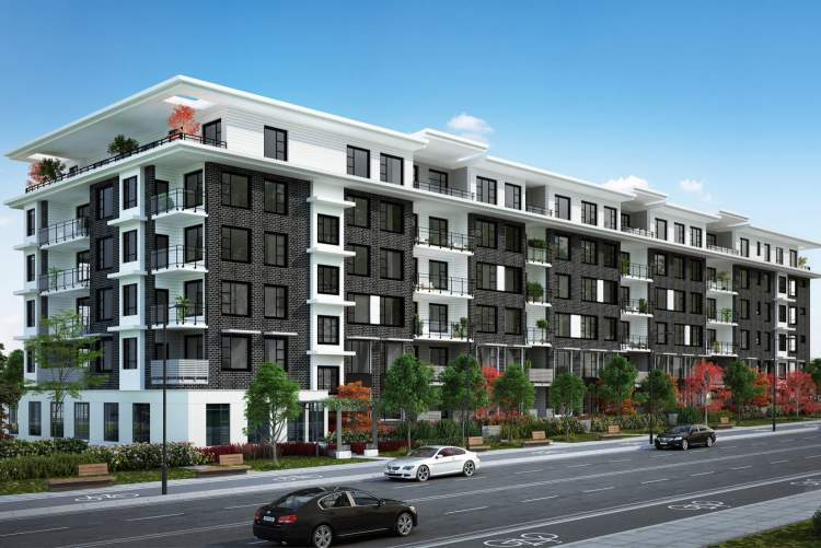 Located at King George Boulevard & 81A Avenue, Kings Landing II includes a collection of 112 condominiums.
