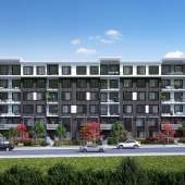 Kings Landing II is a new master-planned community in Surry that includes a 6-storey condominium mid-rise.
