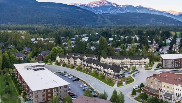 30 new townhomes located in a green-belt valley in the Coast Mountains.