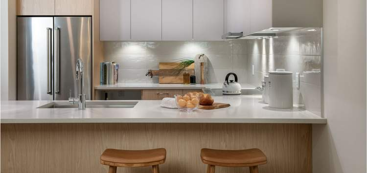 Fully-fitted chef's kitchen inviting you to create and entertain.