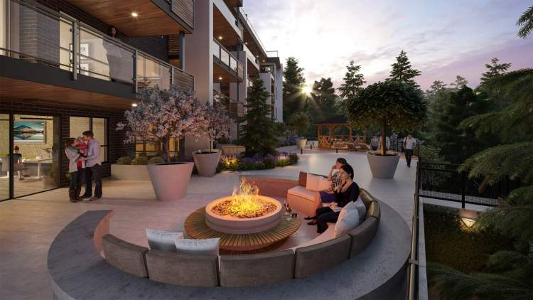 Step outside the Park Lounge to the glowing fire pit, sun loungers, and dining gazebo.