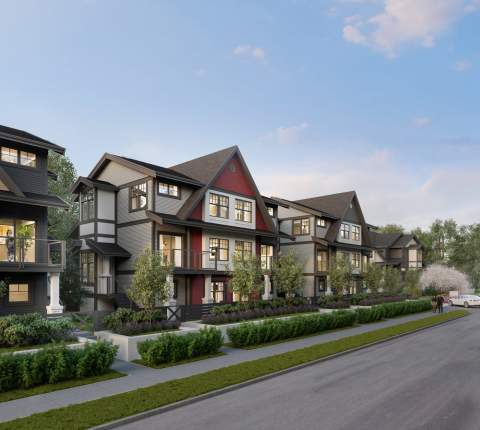 The Craftsman-inspired Townhomes In Pitt Meadows Offer Green-friendly Streets, Spacious Yards, And Private Garages.