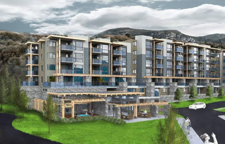 1-, 2- & 3-bedroom homes in a dynamic master-planned community at the foot of the Stawamus Chief.