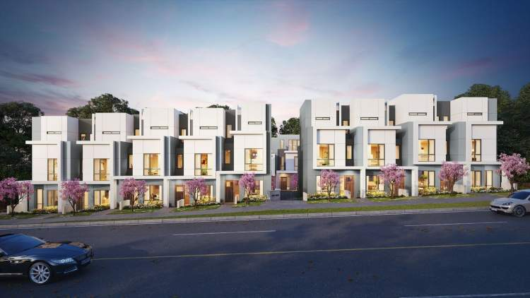 A contemporary collection of 18 luxury 3-bedroom townhomes located on the West Side of Vancouver.