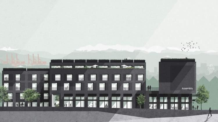 40 new 1-3 bedroom city homes. 11 local merchant spaces.