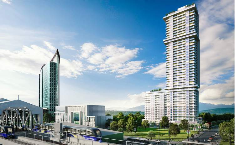 One Central is set to be the largest and tallest residential tower in Surrey.