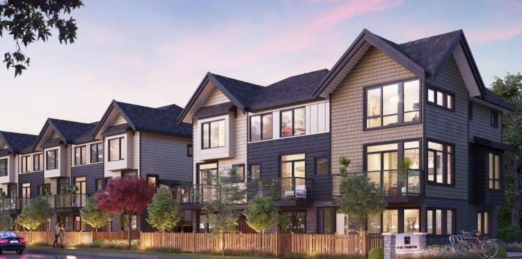 A new collection of 120 East Richmond townhomes with three bedrooms, 2.5 bathrooms, an attached 2-car garage, and over 1,100 sq ft of functional living space.