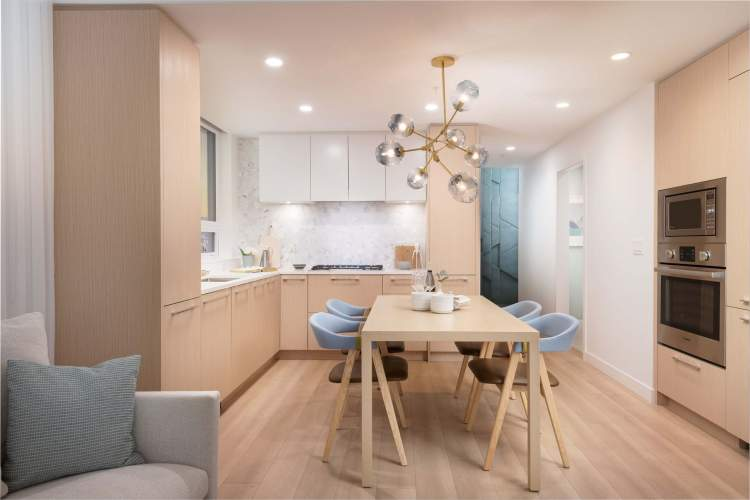 Interiors have been planned to maximize space and are finished to stand the test of time.