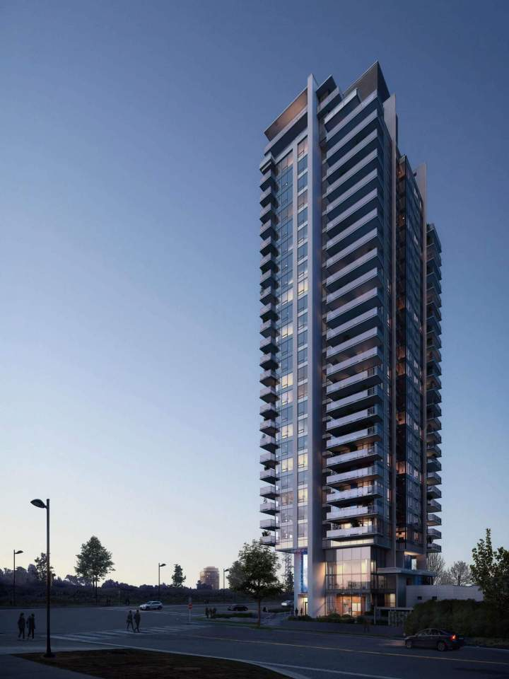 Tailor by Marcon is a 27-storey condominium tower coming soon to the south of Brentwood.