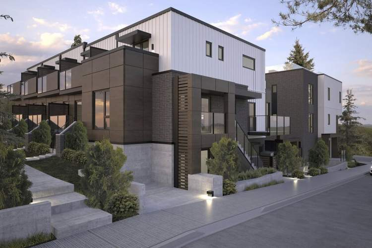 Healthy, sustainable design features built-in air filters, ultra-insulated walls, triple-glazed windows, and heat recirculation for 90% less energy use.