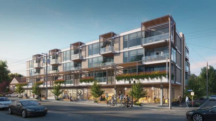New premium concrete residences with 1-, 2-, & 3-bedroom floorplans.