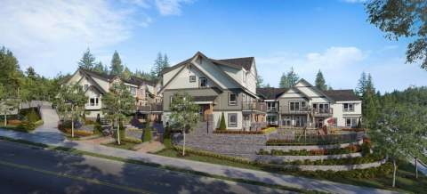 Beautifully Crafted Townhouses Offer All The Outdoor Living Space And Privacy Of A Detached Home.
