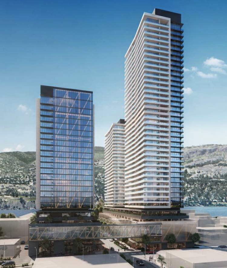 This mixed-use development will include the BC Interior's tallest building.