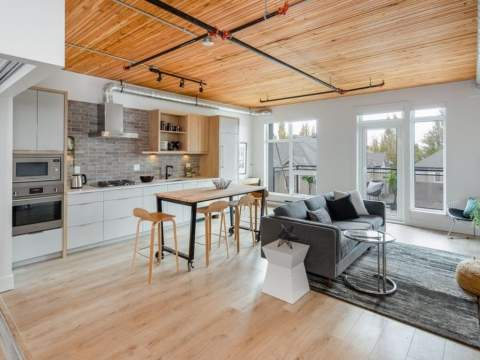 A Collection Of 28 Burnaby Heights Condos Inspired By The Iconic Loft Homes Of New York City.
