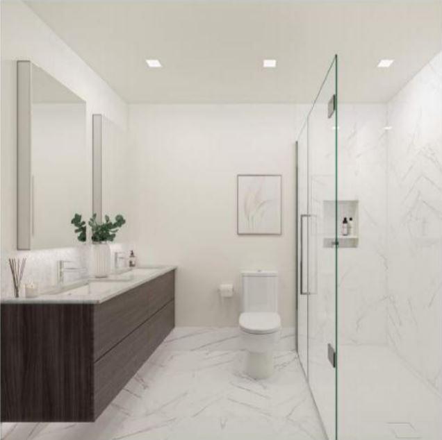 Lakewood bathroom by ValiDesign.